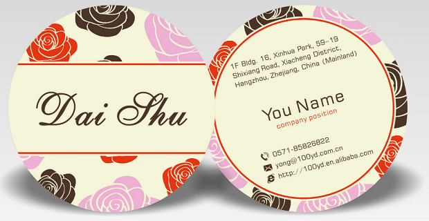 Circle business cards round cards whizz prints you can get your circle business cards friedricerecipe Choice Image