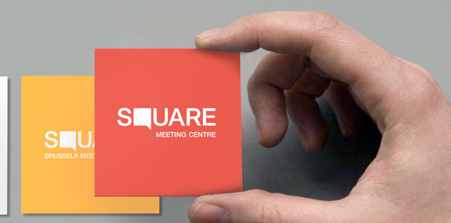 irregular business card size - Square Business Card Size