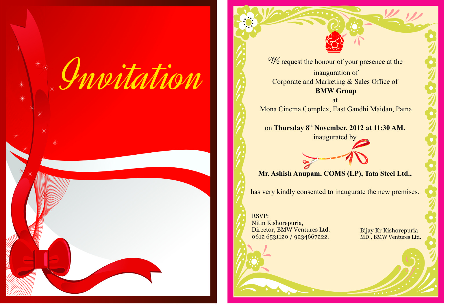 invitation cards printing for just rs 170